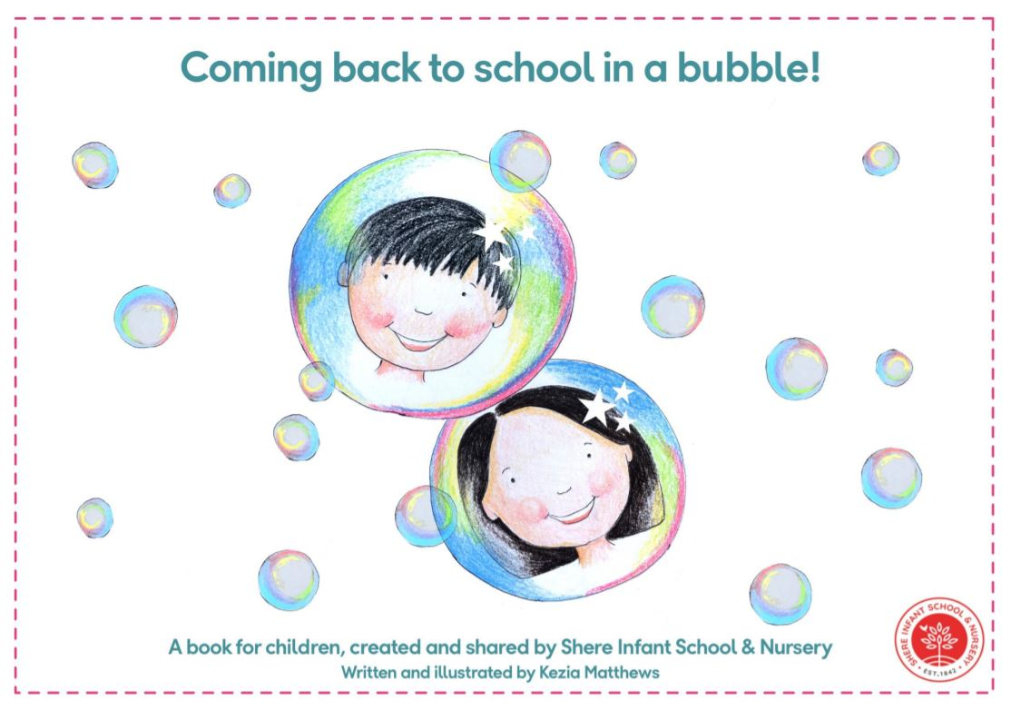 Coming back to school in a bubble!